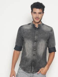 11ab315c2 Numero Uno Men's Solid Casual Shirt - Buy NAVY Numero Uno Men's ...