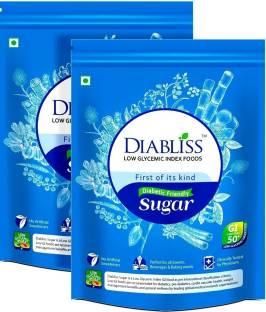 DiaBliss Diabetic Friendly Herbal Cane Sugar Free 500G Pack Of 2 Combo Pack Sugar