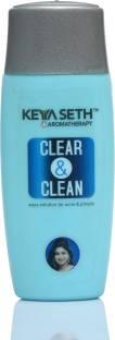 KEYA SETH AROMATHERAPY Clear & Clean Apua Solution for Acne Pimple Pigmentation & Rash- Enriched with Lemongrass & Geranium oil