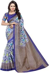 dc7bf87269 Saree Museum Digital Prints, Printed Bhagalpuri Cotton, Silk, Art Silk Saree