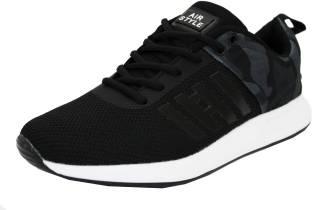 52838fe2f9e JQR Target Running Shoes For Men - Buy Black-Red Color JQR Target ...