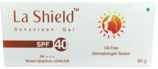 Glenmark La Shield Sunscreen Gel - SPF 40 PA+++
