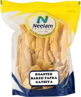 Neelam Foodland ROASTED BAKED FAFDA GATHIYA