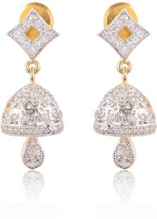 Flipkart Com Buy Grand Jewels Sui Dhaga Alloy Jhumki Earring