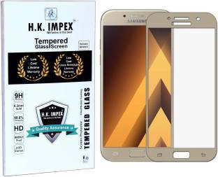 H.K.Impex Tempered Glass Guard for Samsung Galaxy A7-2017