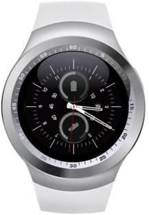 3f6abefa2 JM JM New Y1 White Colour Smart Watch With sim/sd Support Smartwatch