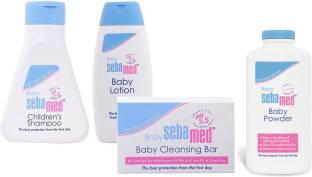 Sebamed Lotion, soap , shampoo, powder comboo