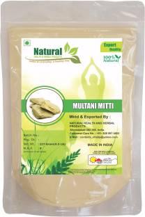Natural Health and Herbal Products Natural Multani Mitti Powder
