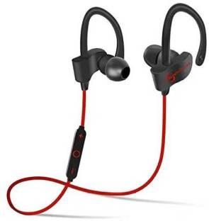 04e7eb573f8 Klassy Wireless Bluetooth V+4.1 Excellent Voice Quality Headphone QC10  Red-002 Bluetooth Headset