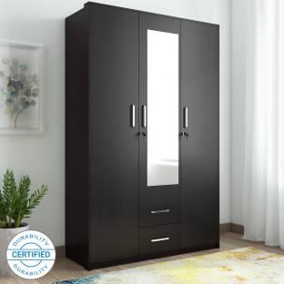 Spacewood Apex Engineered Wood 3 Door Wardrobe