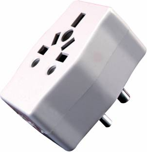 S.Blaze UNIVERSAL CONVERSION PLUG, MULTI PLUG 220 A Three Pin Socket