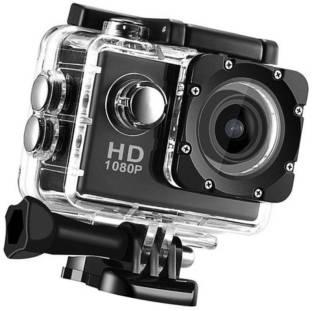 ALONZO Action Camera Ultra HD Waterproof Sport Camera 12MP 170 Degree Wide Angle Rechargeable 1050mAh ...