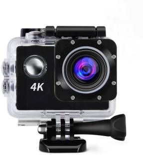 ALONZO 4K Action Camera 4K Action Cam Waterproof Sport Camera Diving Ultra HD 16MP 40M 170°Adjustable ...