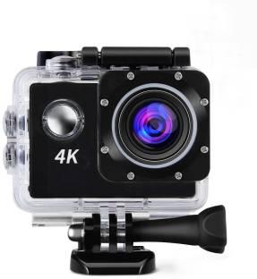 ALONZO 4K Action Camera 4K Action Cam Waterproof Sport Camera Diving Ultra HD 16MP 40M 170°Adjustable ...