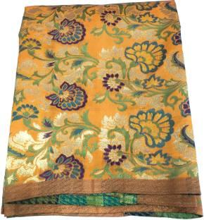 c1cda91edf Inhika Chiffon Embroidered Blouse Material Price in India - Buy ...