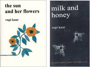Set Of 2 Books -MILK AND HONEY &THE SUN AND HER FLOWERS