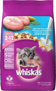 Whiskas Kitten (2-12 months) Fish 1.1 kg Dry Young Cat Food