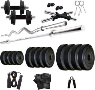 Star X PVC 24 Kg Home Gym Combo Adjustable Dumbbell