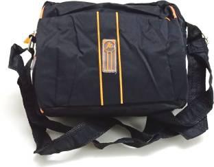 U.S. Polo Assn Men Casual Black Leatherette Messenger Bag Black ... b5df71e5809ff