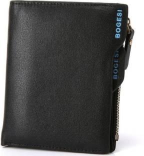 Bogesi Men Formal Black Artificial Leather Wallet
