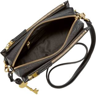 7576a080be8c Givenchy Women Black Genuine Leather Sling Bag Black - Price in ...