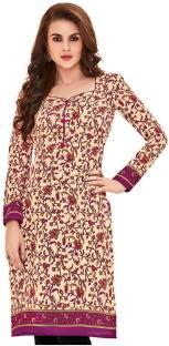 2ef93e6e19 Giftsnfriends Cotton Printed Kurti Fabric Price in India - Buy ...
