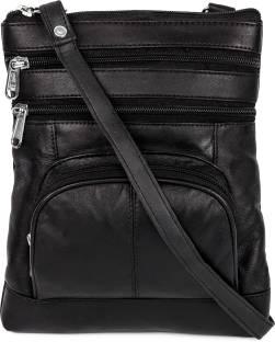 Fendi Women Black Genuine Leather Sling Bag Black - Price in India ... 66f20a50e304e