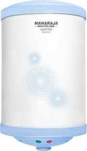 MAHARAJA WHITELINE 10 L Storage Water Geyser (Warmist, Grey)