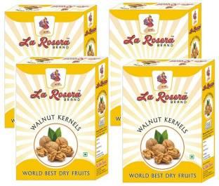 LA ROSERA Walnut Light Broken 250 g x pack of 4 Walnuts