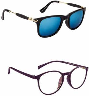 f342565cd4 Buy Royal Son Round Sunglasses Blue For Men Online   Best Prices in ...