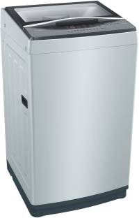 BOSCH 6.5 kg Fully Automatic Top Load Grey