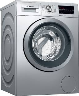 Bosch 8 kg Inverter ExpressWash Fully Automatic Front Load with In-built Heater Silver