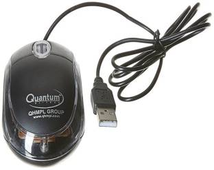 QHMPL Quantum USB Wired Optical Mouse