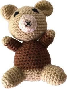 Handmade Crochet Teddy Bear Soft Toy - Brown | 312x235