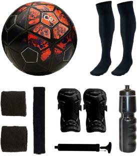 ff7d8a4244 Retail World Strike Silver Football (Size-5) COMBO KIT Football Kit ...