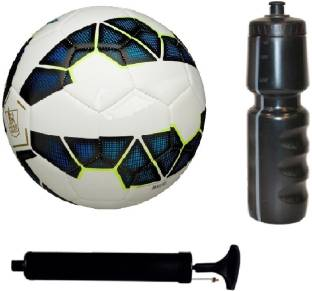 a9df2c715f2239 SportsCorner Kit of Premier League Blue Football (Size-5) with Air Pump