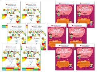 Oswaal NCERT & CBSE Pullout Worksheets Class 6 (Set of 6 Books