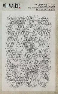 49 /& Market Clear Stamps 4X6 Gabis Crackle Texture