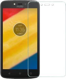 Bizone Tempered Glass Guard for Motorola Moto C Plus