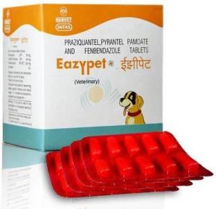 INTAS Eazypet tablets 1x10 Pet Dewormer Pet Dewormer
