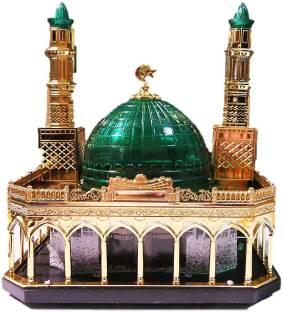 itiha Khana Kaba Velvet Wooden Holy Quran Holder with Reehal
