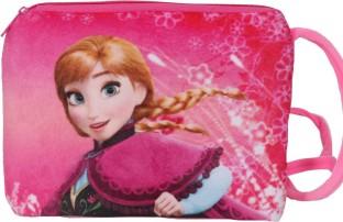Disneys Girls Frozen Elsa /& Anna Sisters Character Coin Purse Pouch DFR 871