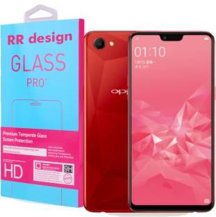 RR Design Tempered Glass Guard for OPPO A5, Oppo A3s, Realme 2, Realme C1