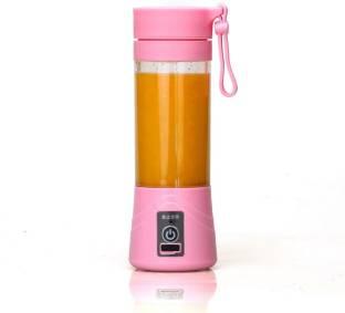 WDS Pro Portable USB Electric Juicer, Blender Juicer 380 Juicer Mixer Grinder(pink, 1 Jar) 0 W Juice...