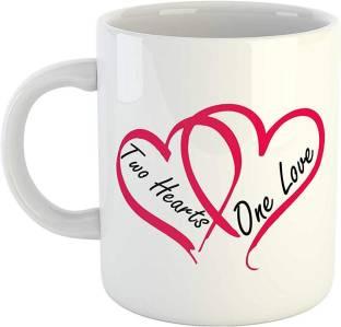 Homokart Love Cup Ceramic Mug Price In India Buy Homokart Love Cup