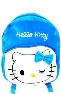 Blue Tree School Bag For Kids Soft Plush Backpack For Small Kids Nursery Bag  (New c1132c9c9c5ec