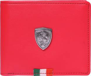 32c895aaee63b Puma Men Red Genuine Leather Wallet rosso corsa - Price in India ...