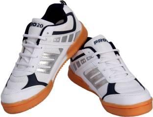 ADIDAS Badminton Shoes For Men Buy White Color ADIDAS