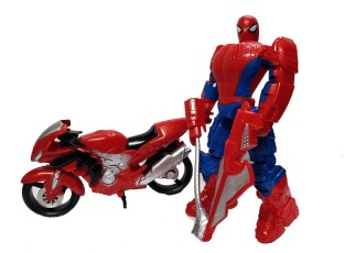 Spiderman Toys For Kids : Halo nation spiderman bike motorcycle toys battery operated toy