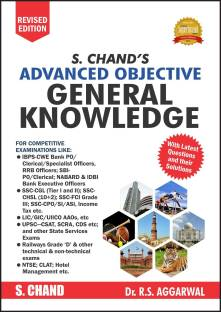 S. CHANDS ADVANCED OBJECTIVE GENERAL KNOWLEDGE REVISED EDITION